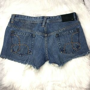 🌸 4 for $25 Hurley juniors cut off shorts size 5